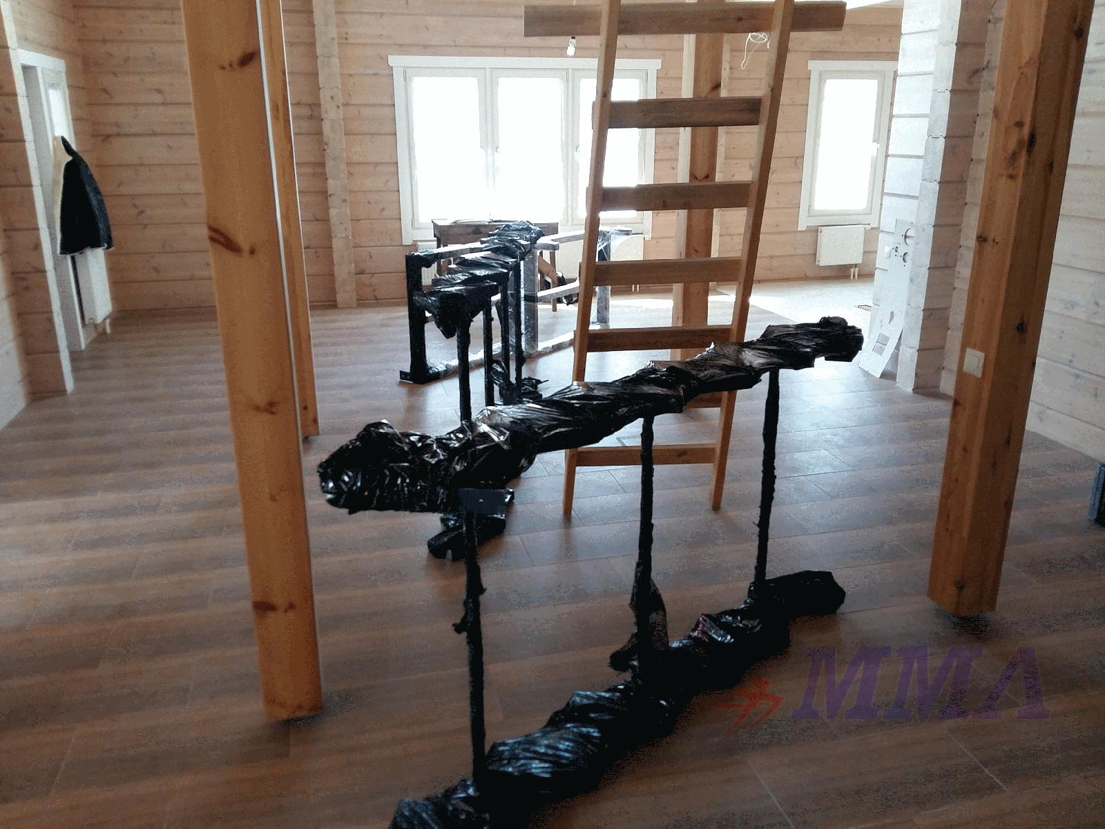 каркас, лестница,металл, открытый тип,