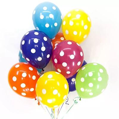 Гелиевые шарики Горошек
