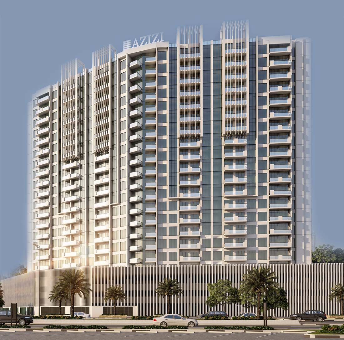 Azizi Creek Views II: Apartments for Sale in Dubai Healthcare City