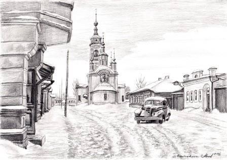 Успенская церковь. 1930е