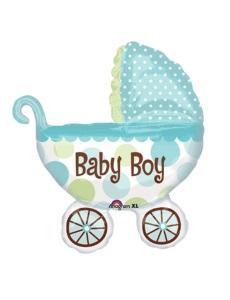 коляска выписку мальчика
