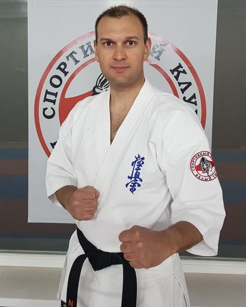 Тренер по каратэ Киокусинкай в Липецке - Ардашев Николай