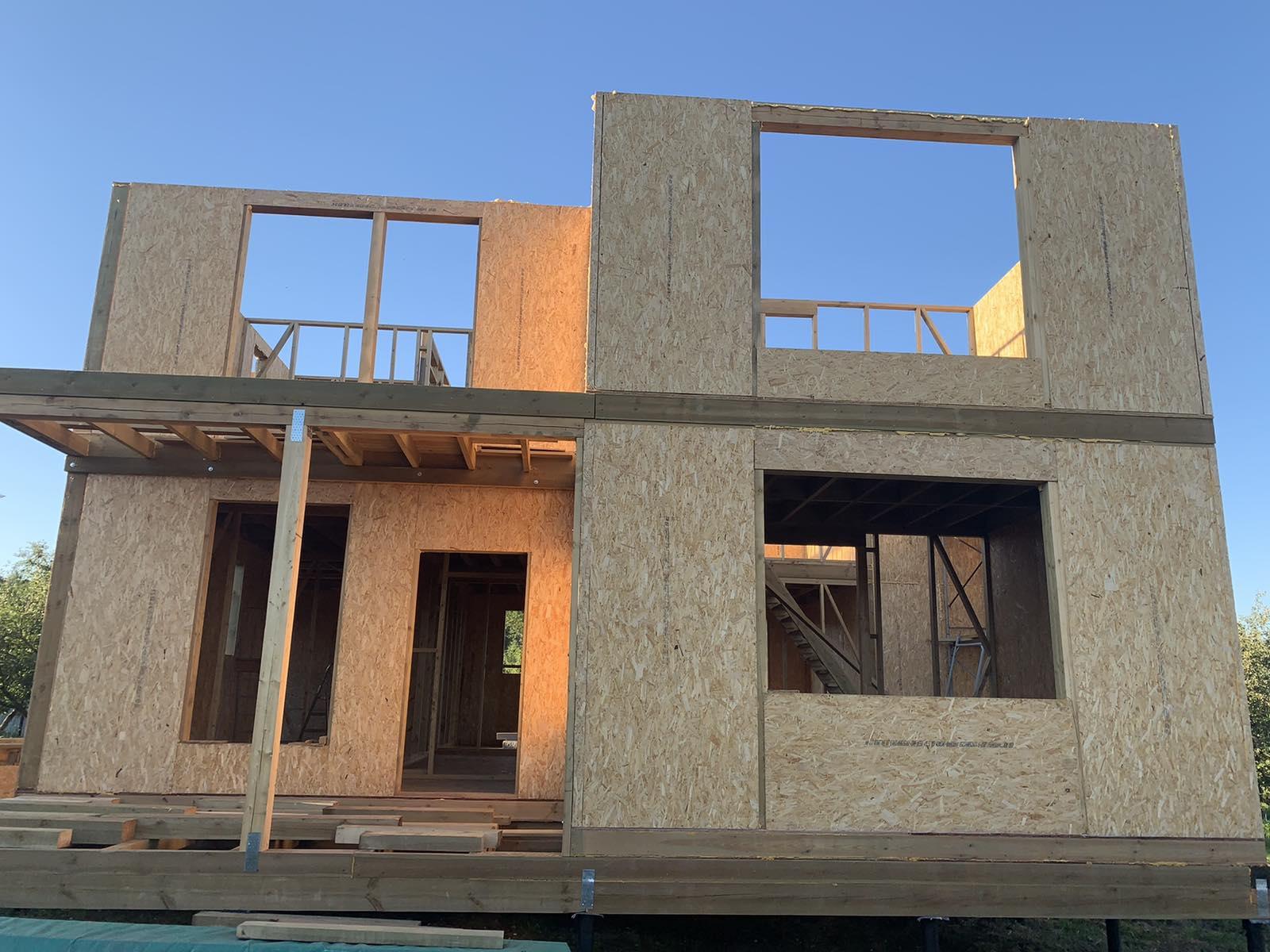 фото дома из сип панелей №5 курск
