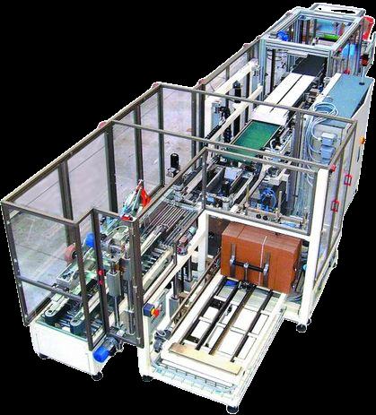 Автоматическая машина для упаковки в картонную тару