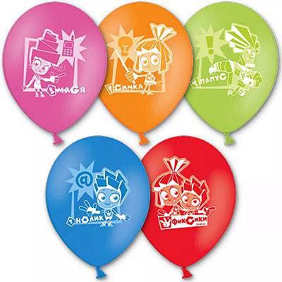 Гелиевые шарики Фиксики