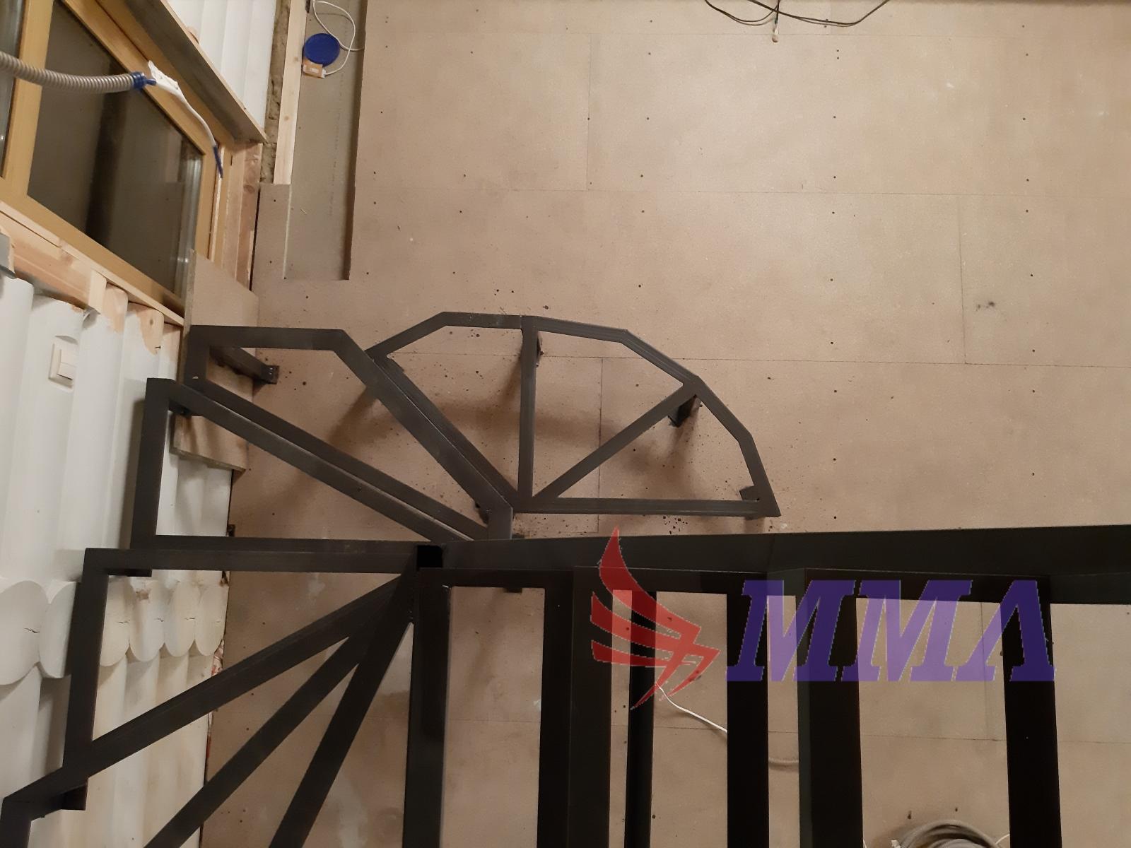 дачный ответ, лестница, металлокаркас,