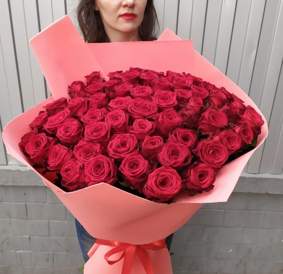 75 роз Ред Наоми