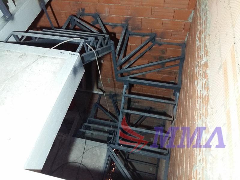 лестница, каркас, метал, швеллер, вяземское,