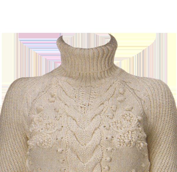 белый свитер фотография на документы