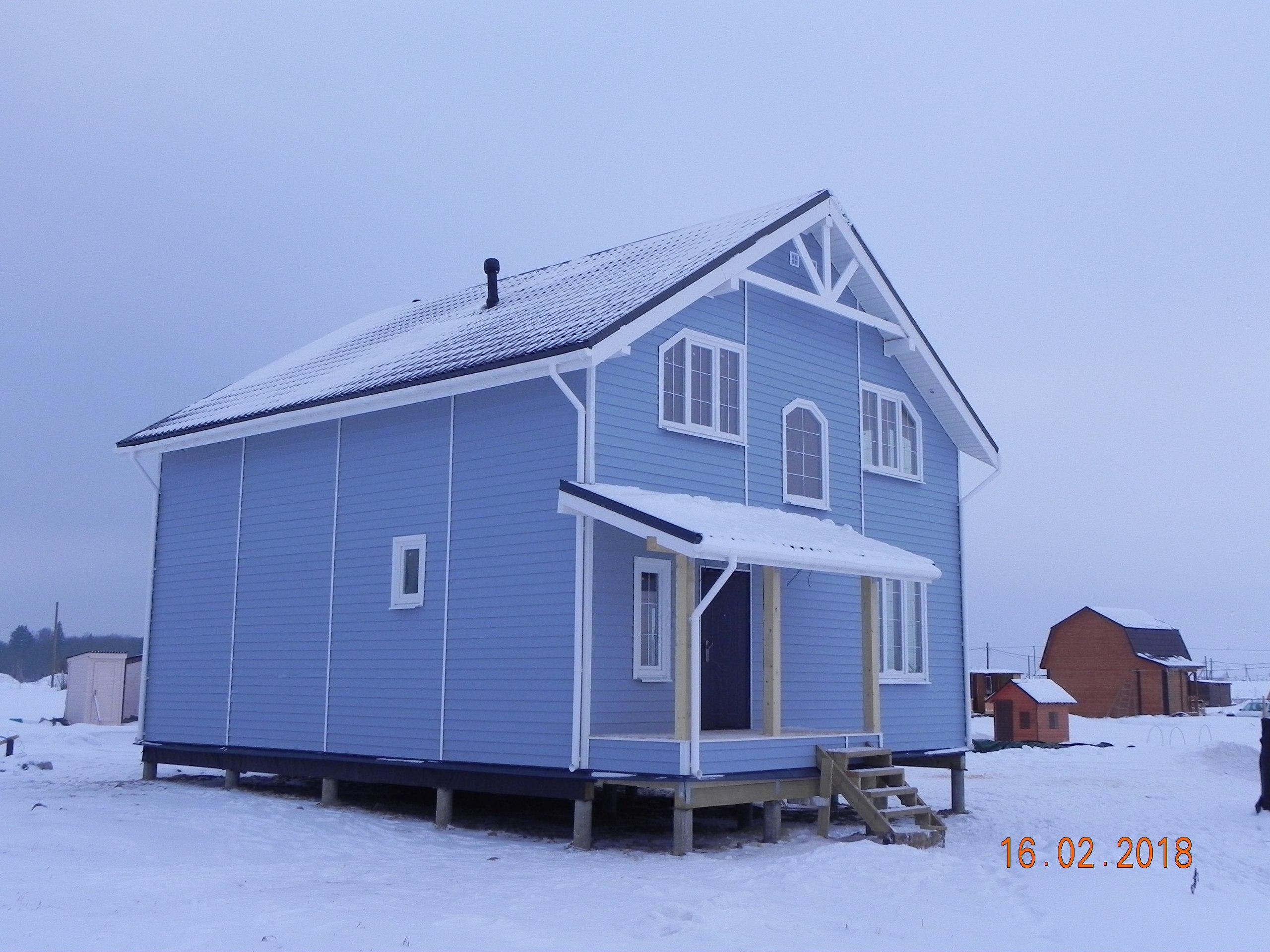 фото дома из сип панелей №1 сокули