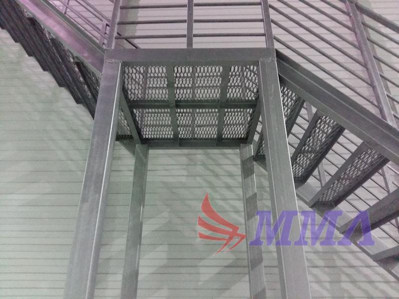 лестница, склад, промышленная,