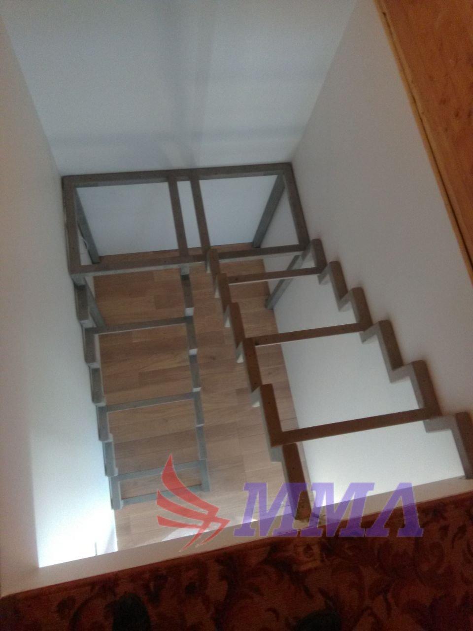 Каркас, лестница, металл, труба,