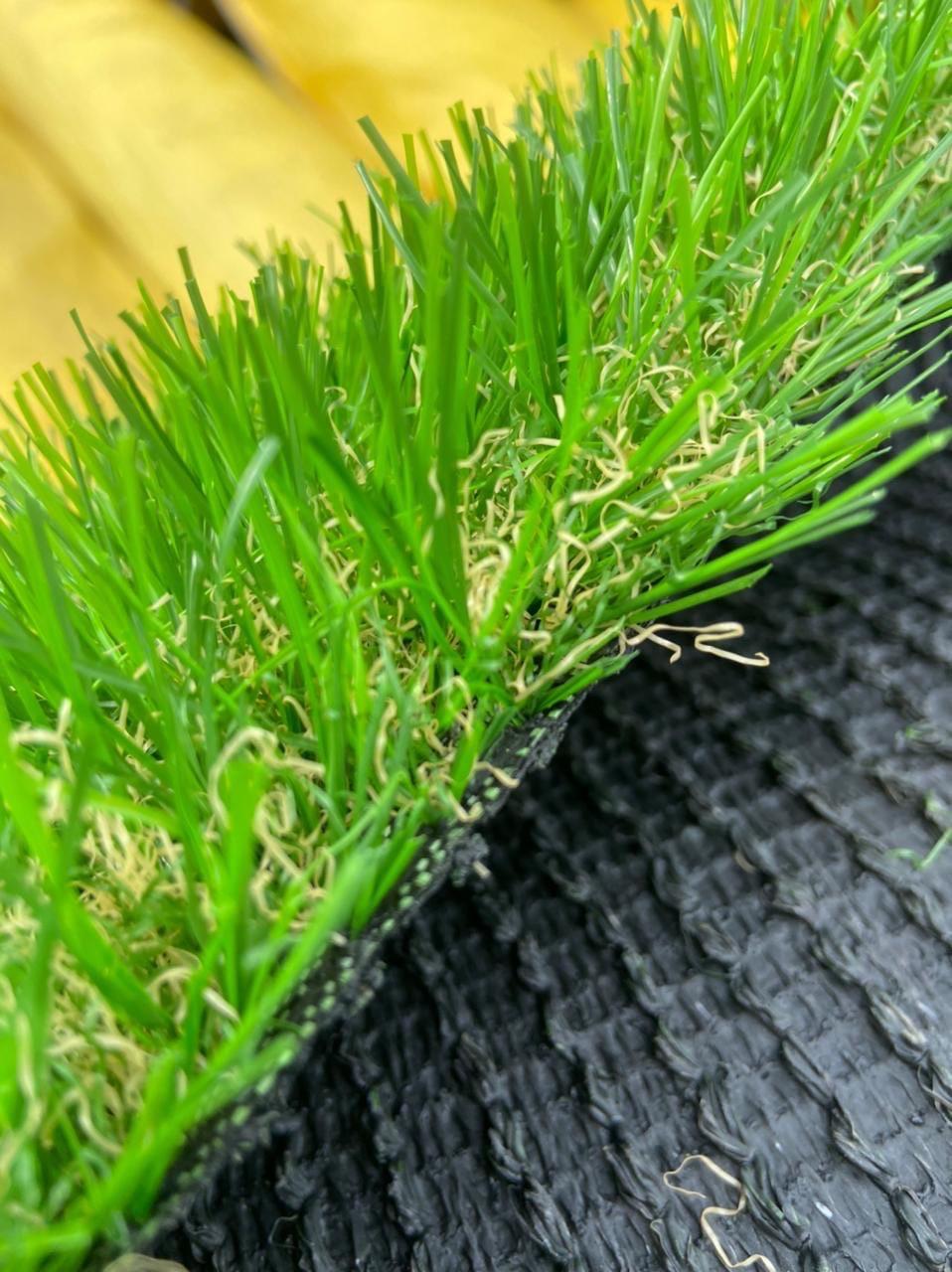 Ландшафтная искусственная трава 35 мм Litgh Green