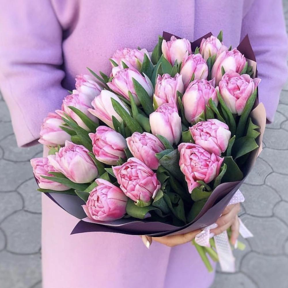 51 розовый тюльпан Foxtrot фото