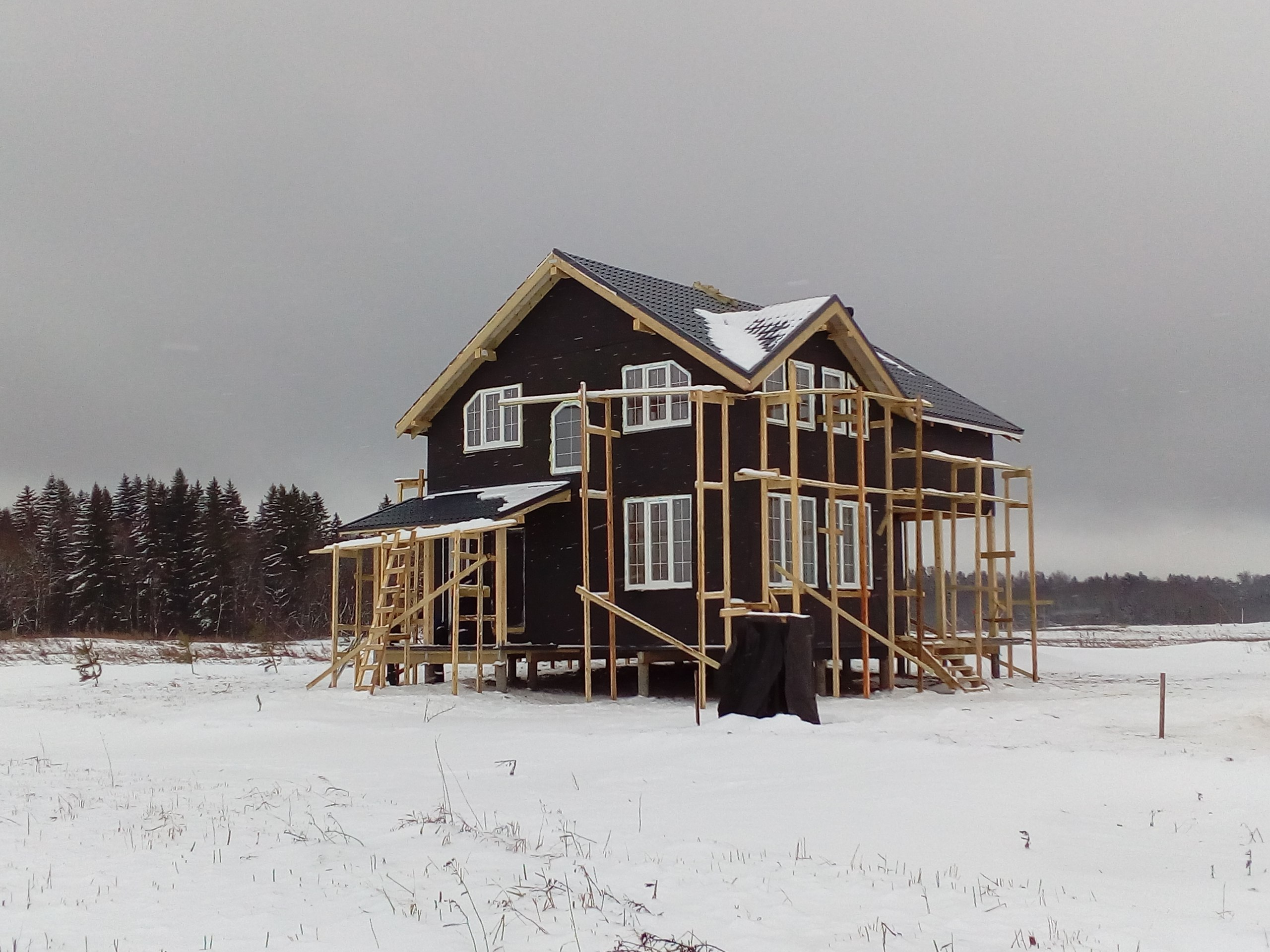 фото дома из сип панелей №6 сокули