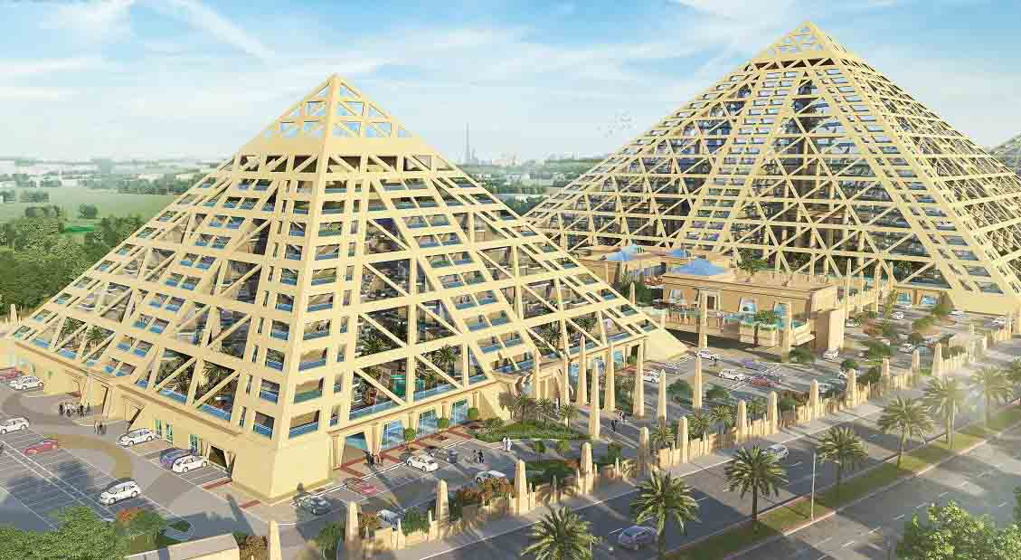 Buy Properties in Dubai by Falconcity of Wonders