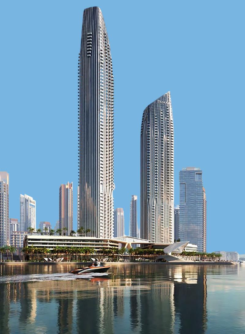 Address Harbour Point in Dubai Creek Harbour by Emaar, Dubai – Off-Plan Serviced Apartments