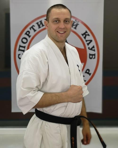Тренер по каратэ Киокусинкай в Липецке - Смыков Юрий Алексеевич