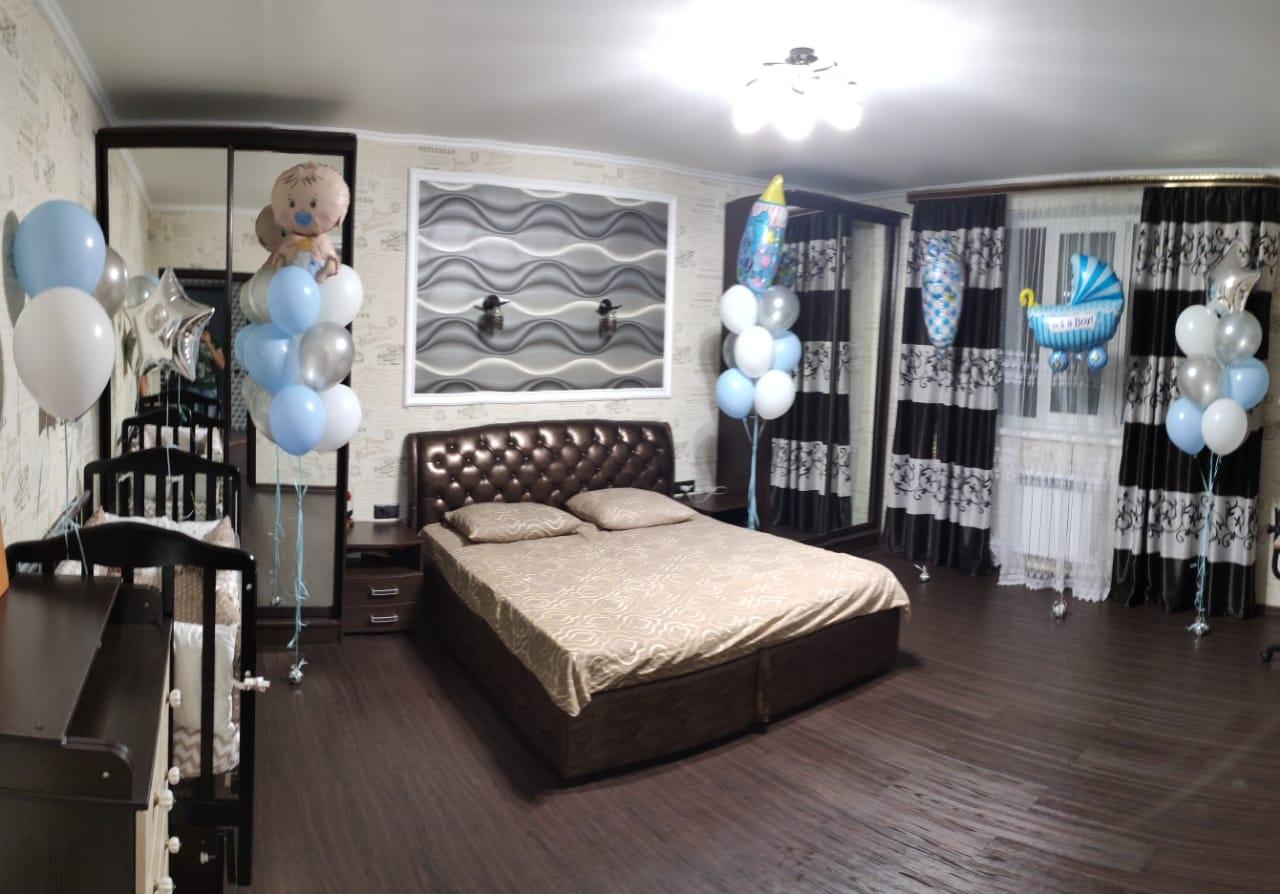 Оформление комнаты на выписку для мальчика