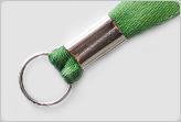 Металлическое кольцо на ленте для бейджа
