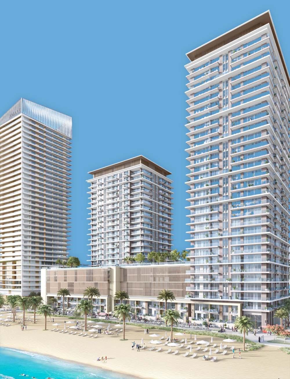 Beach Isle in Emaar Beachfront: Buy Apartments for Sale in Dubai