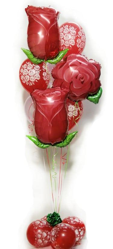 3 фольги + 2 с конфети + 3 с сердцами