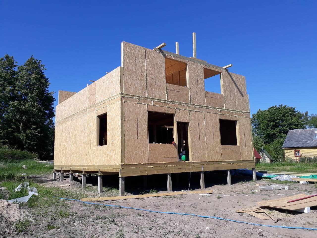 фото дома из сип панелей №6 зеленогорск