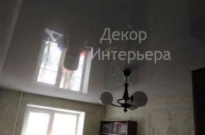Картинка глянцевого (лакового) натяжного потолка в Вашем городе по низкой цене от 199 руб м2