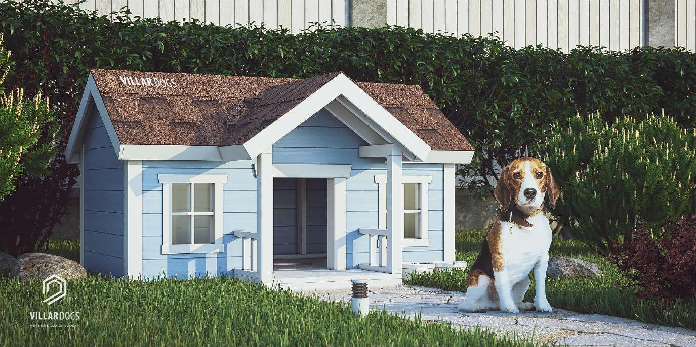 Красивый домик для собаки | Фотографии | VillarDogs