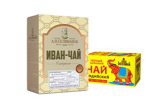 """Чай Кофейная компания """"Вокруг Света"""""""