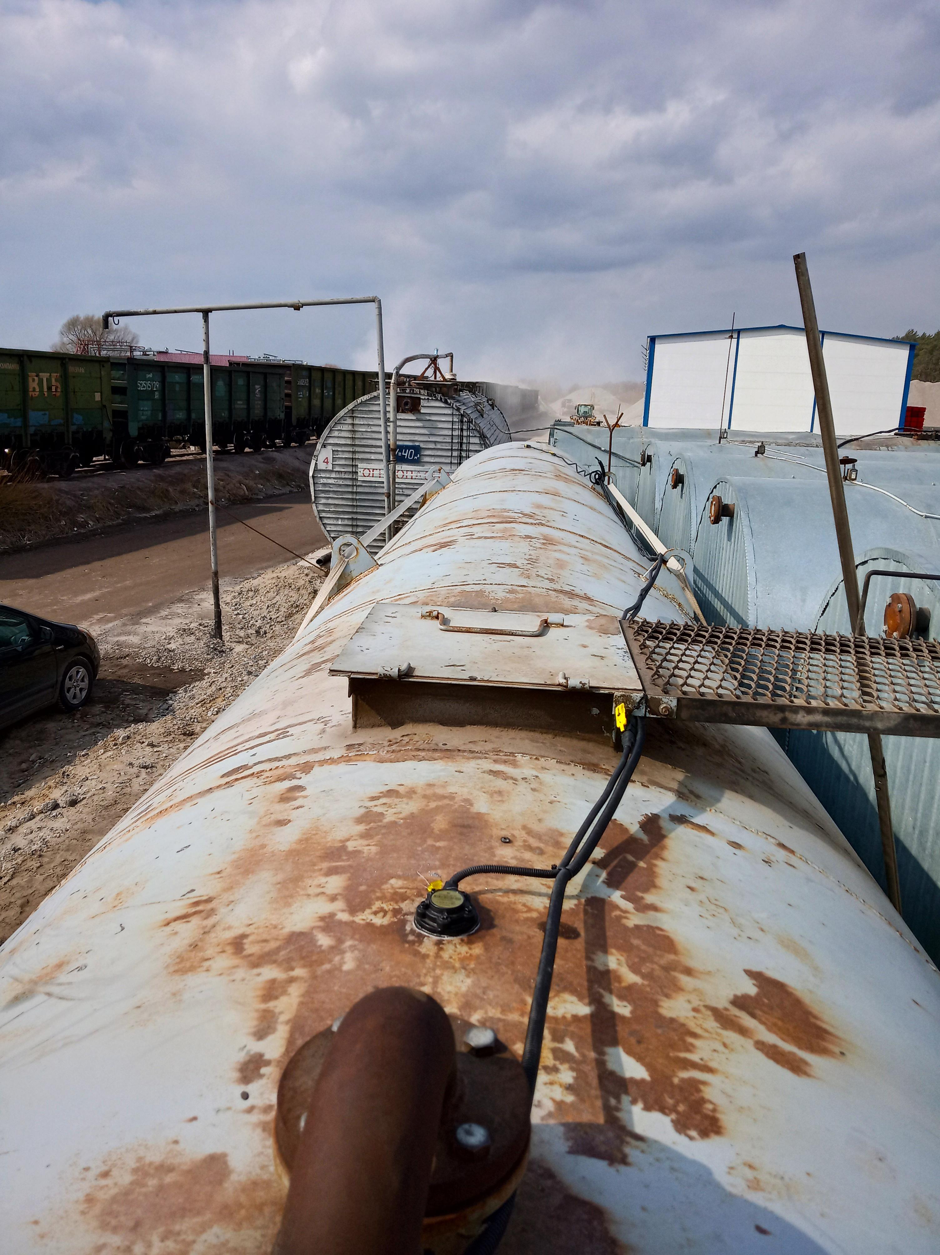Датчик топлива на емкость 8 тонн