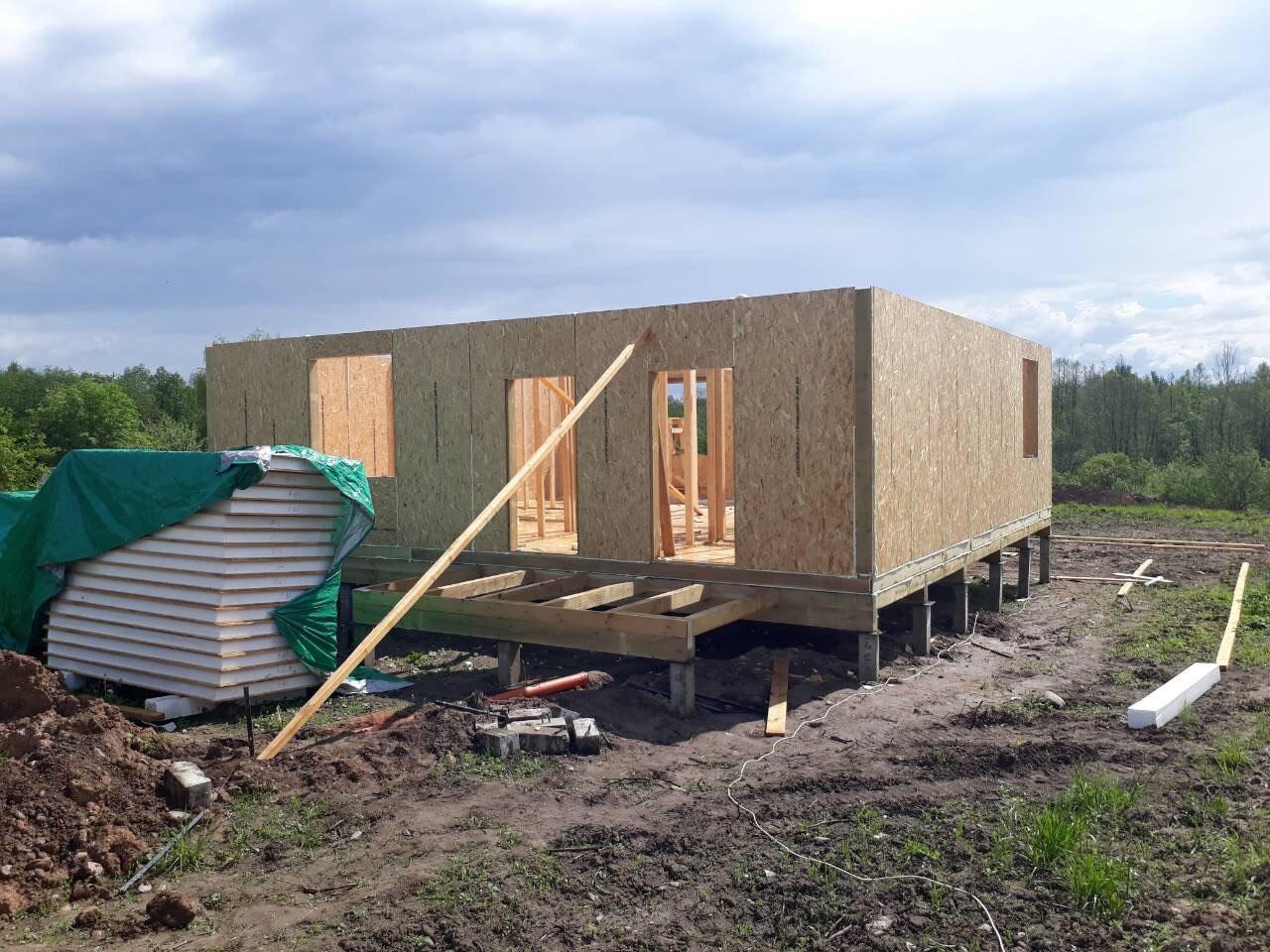 фото дома из сип панелей №5 зеленогорск