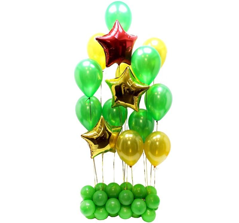 Набор из шаров на 23 февраля №22