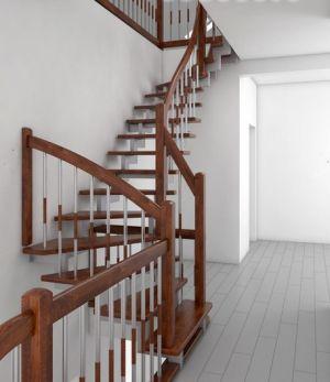 каркас, лестница, металл,