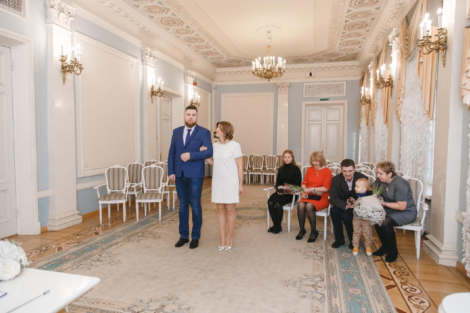 Отдел ЗАГС Кировского района интерьер