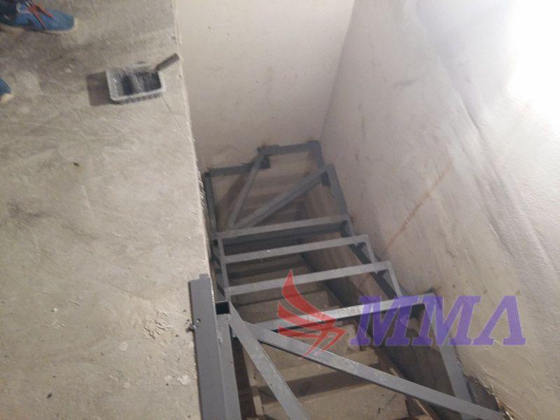 каркас лестницы, металл, швеллер, уголок,