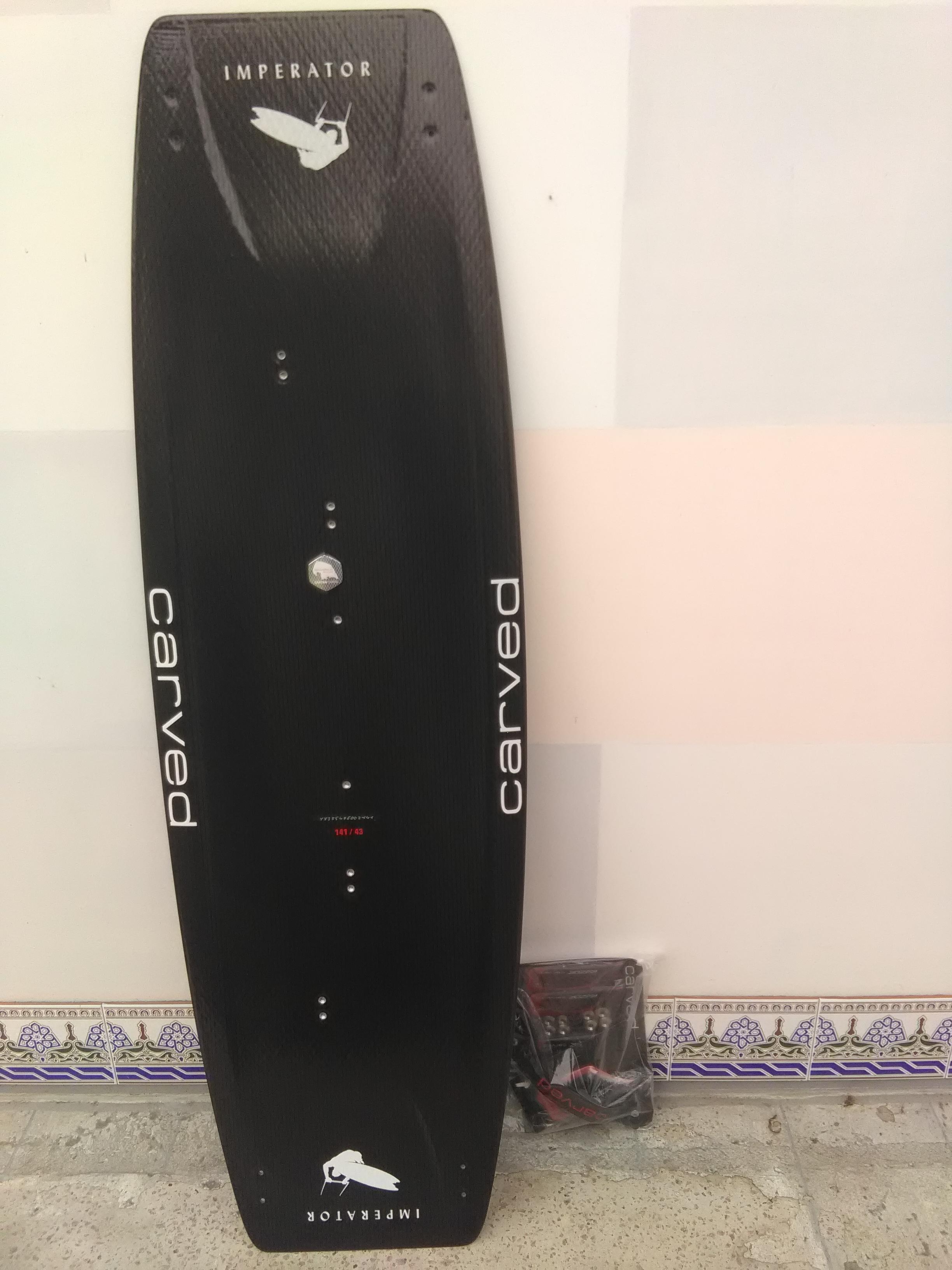 Carved Imperator kite board