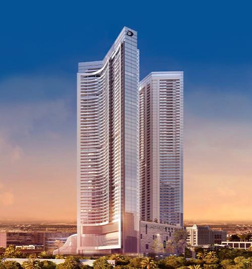 DAMAC AYKON Heights Apartments in Business Bay Dubai