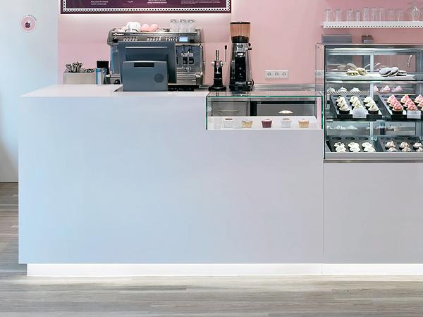 кассовая стойка для пекарни