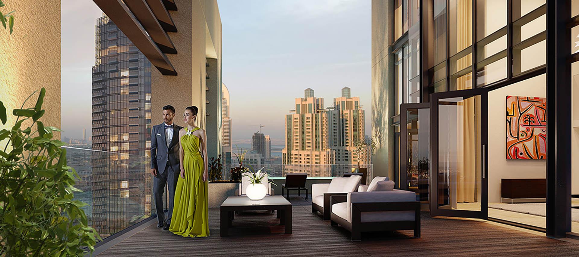 Emaar BLVD Heights Apartments in Downtown Dubai