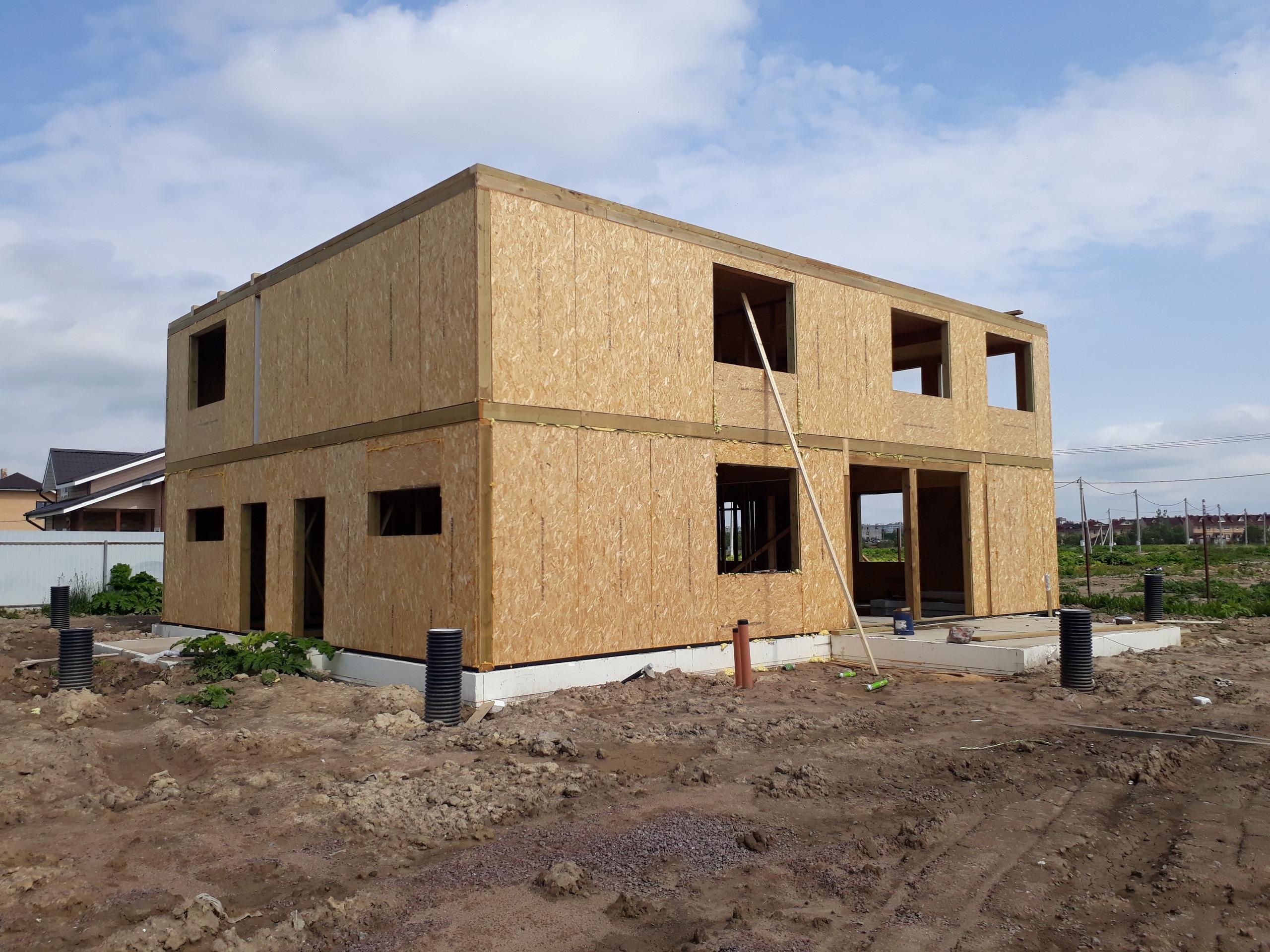 фото дома из сип панелей №2 коммунар