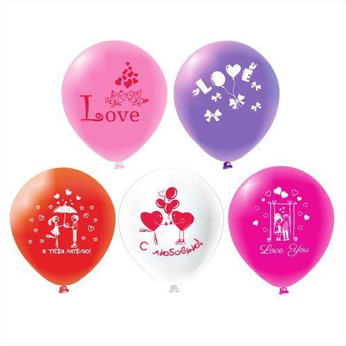 Гелиевые шарики Признание в любви