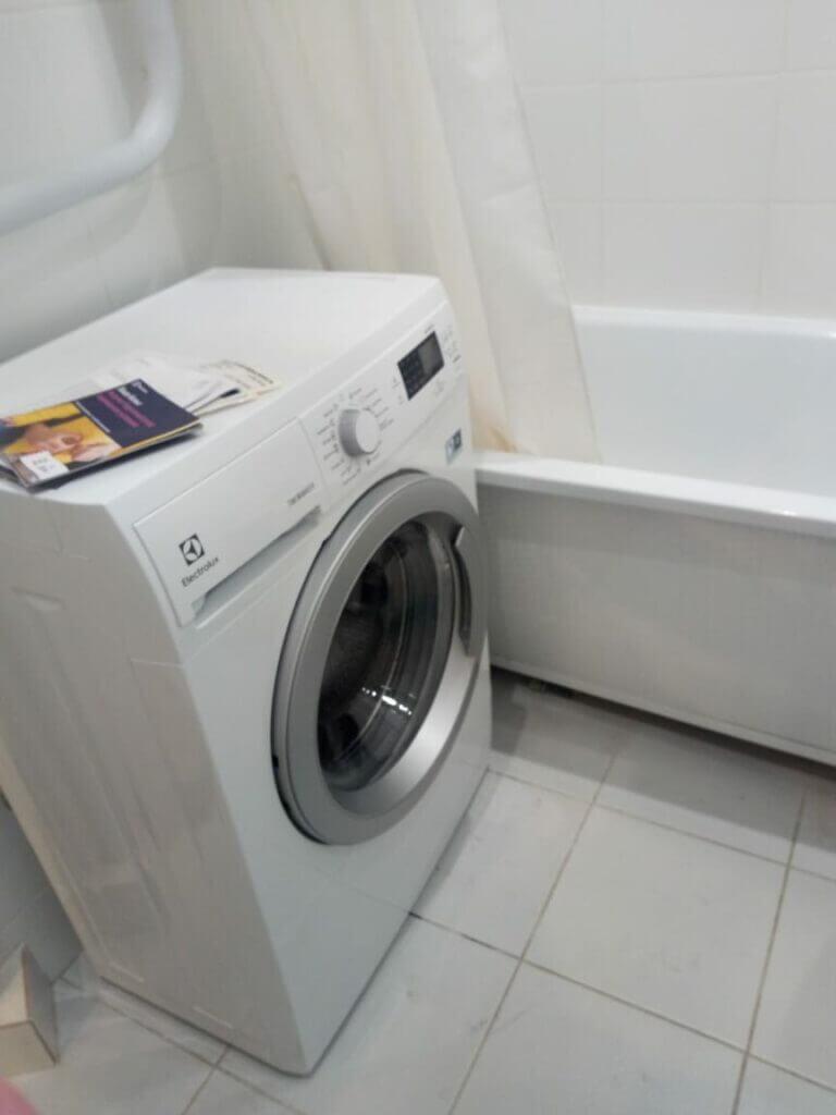 стиральная машина подключение