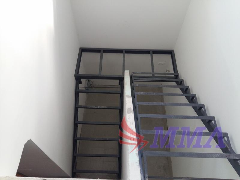 лестница, металл, швеллер, уголок,