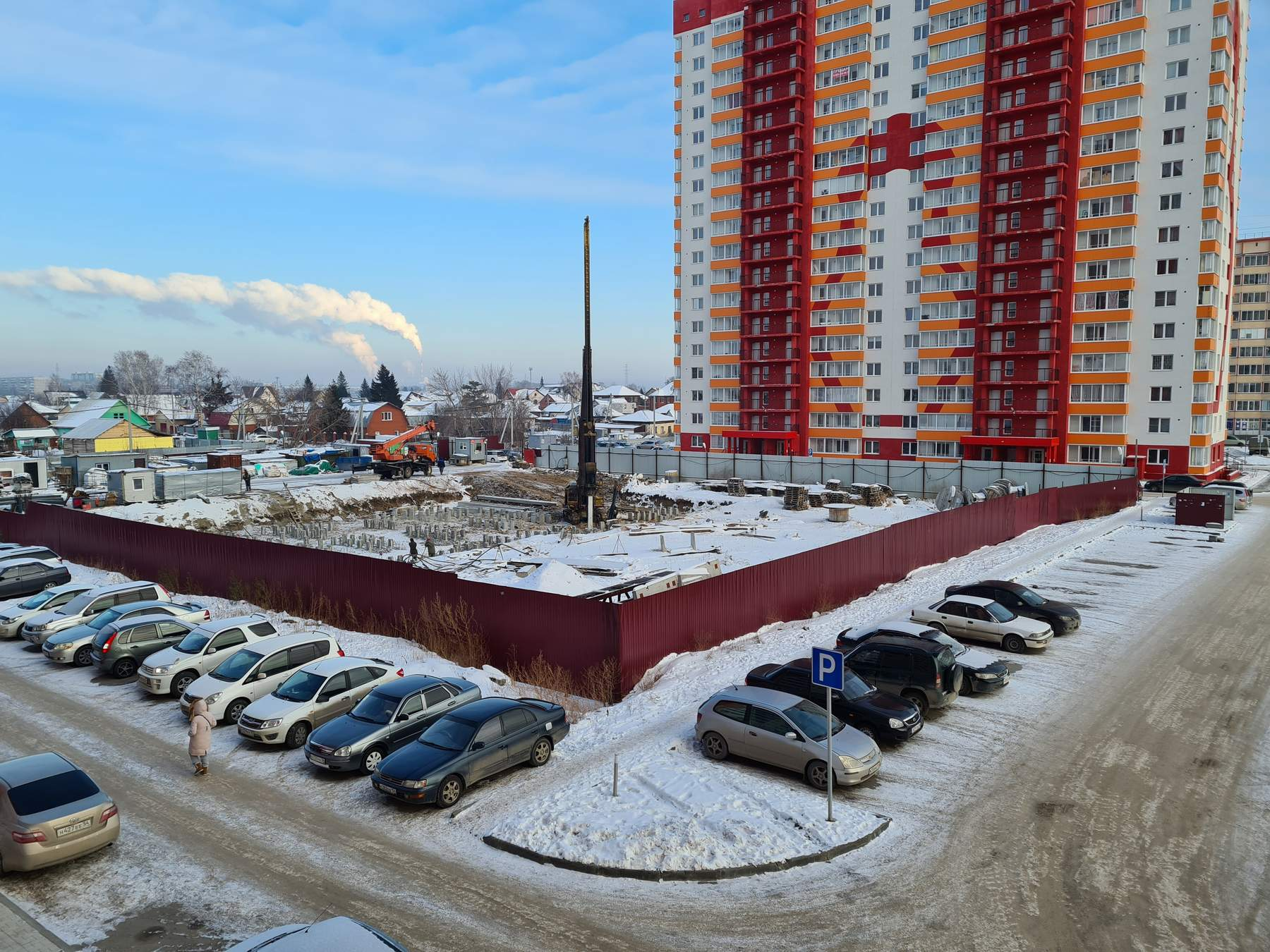 Новый дом Матрешкин двор Петухова 95/4 дом 3