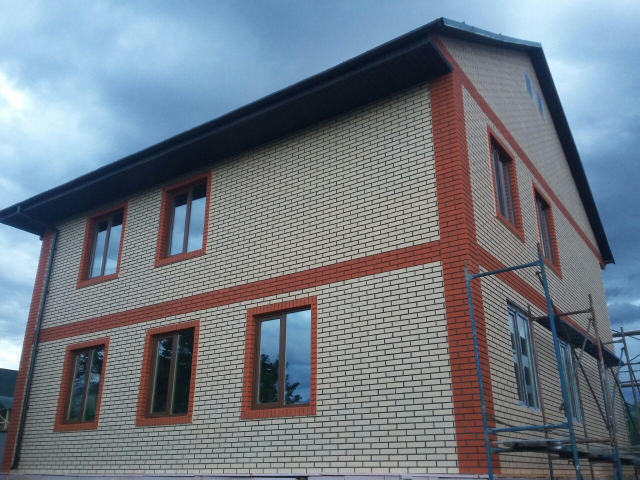 отделка фасадными панелями алматы