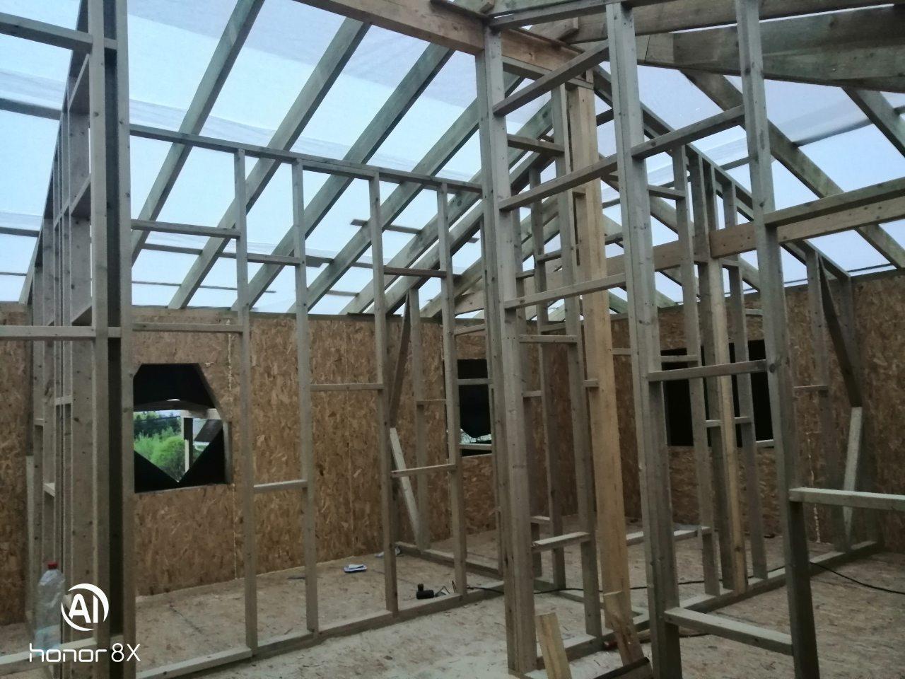фото дома из сип панелей №5 порошкино