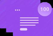Лимит в 100 страниц на конструкторе сайтов
