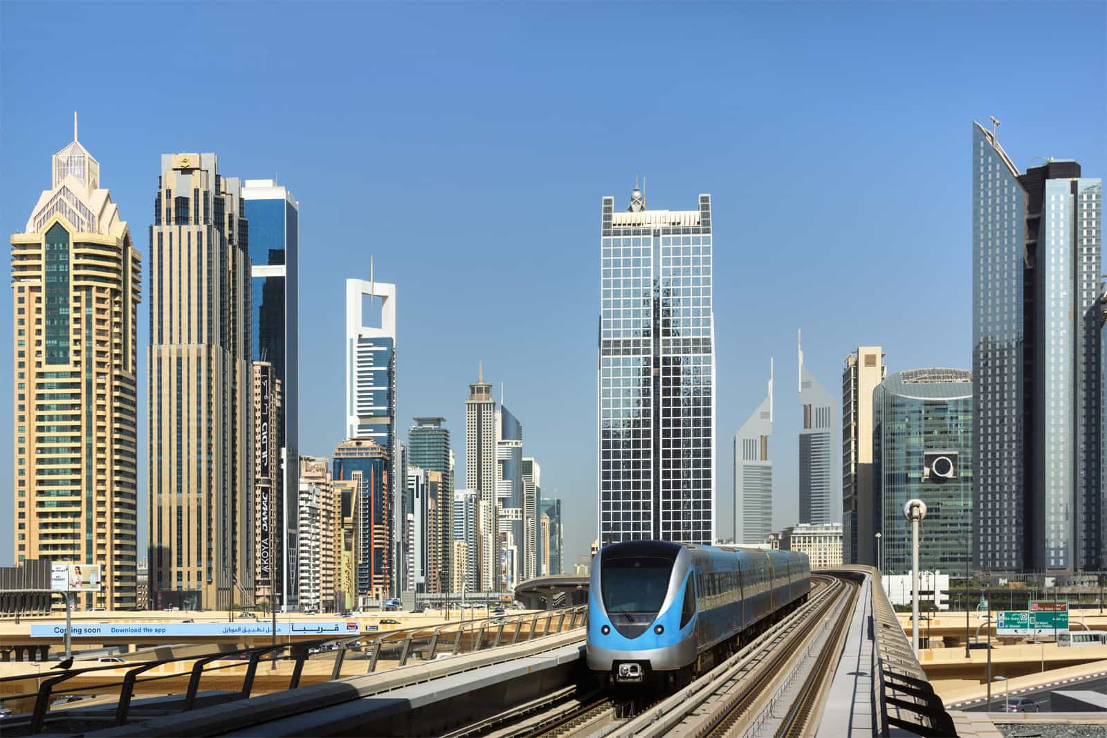 Dubai Real Estate Projects Map