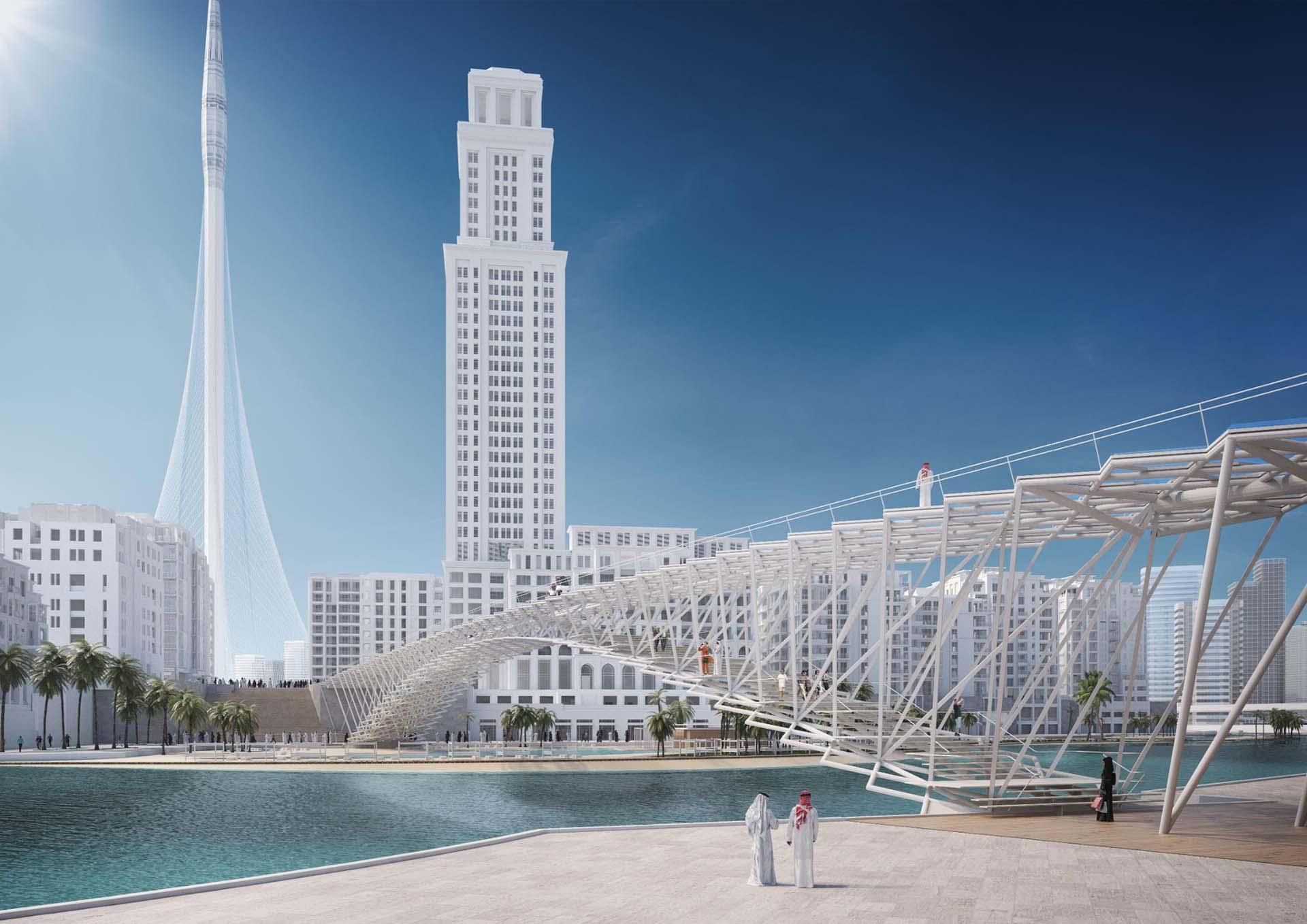 Dubai Creek Harbour Transport Accessibility